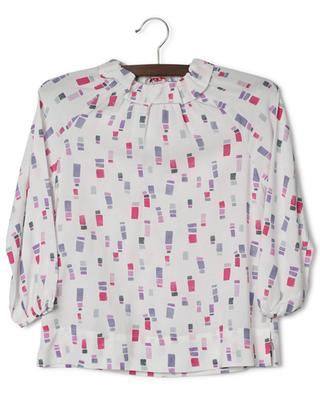 Viscose blouse with rectangle print IL GUFO
