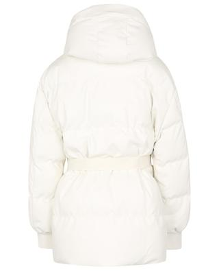 Kayla quilted faux leather puffer jacket STELLA MCCARTNEY