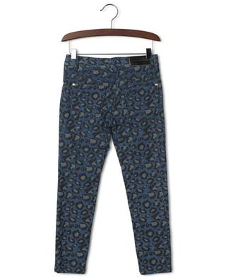 Leopard speck printed skinny fit jeans LITTLE MARC JACOBS