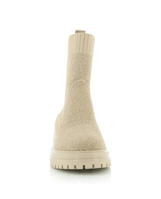Torrance 45 bouclé knit sock ankle boots GIANVITO ROSSI