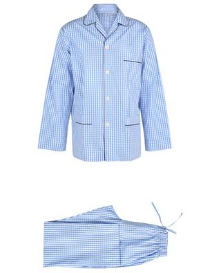 Pyjama aus Baumwolle mit Vichy-Karos Venezia ROBERTO RICETTI