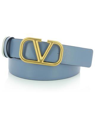 VLogo reversible thin leather belt VALENTINO