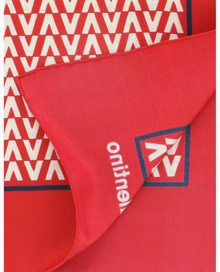 Optical Valentino silk twill square VALENTINO