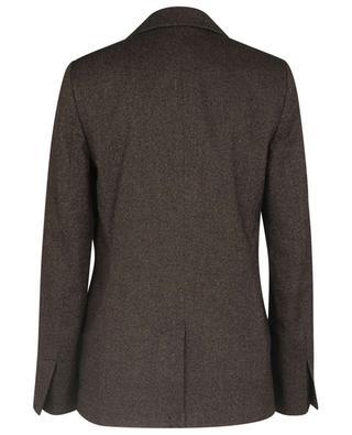 Blazer à boutonnage simple en sergé de coton et laine Static Tailoring VICTORIA VICTORIA BECKHAM