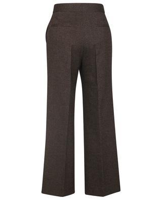 Pantalon en sergé de coton et laine Static Tailoring VICTORIA VICTORIA BECKHAM