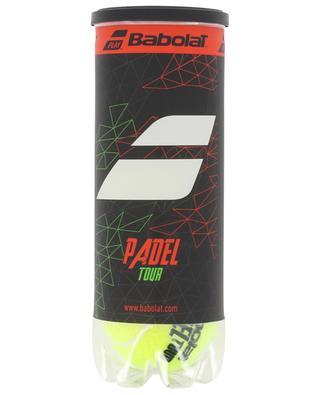 Balles de padel Padel Tour X3 BABOLAT