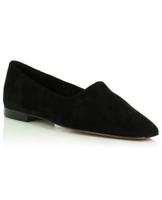 Andrano square toe suede ballet flats ATP ATELIER