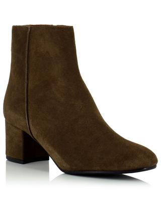 Mei 55 block heeled suede ankle boots ATP ATELIER