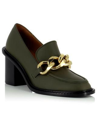 Osimo 70 smooth leather heeled loafers with chain ATP ATELIER