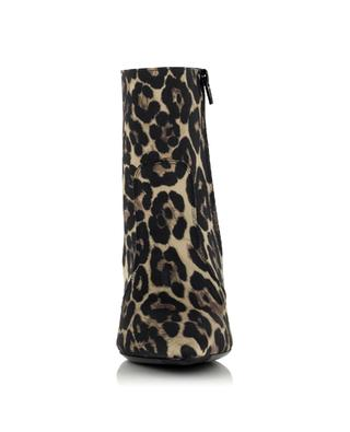 Lana Heeled ankle boots with leopard print BONGENIE GRIEDER