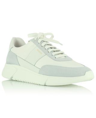 Weisse Sneakers aus Stoff und Leder Genesis Vintage Runner AXEL ARIGATO