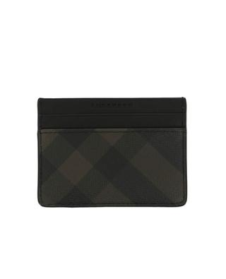 Kartenetui aus PVC London Check BURBERRY