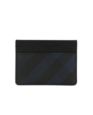 London Check PVC card case BURBERRY
