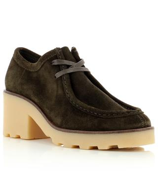 Wallabee Block lace-up suede loafers CLARKS