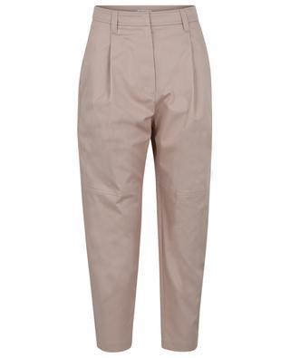 Pantalon chino carotte taille haute à Monile BRUNELLO CUCINELLI