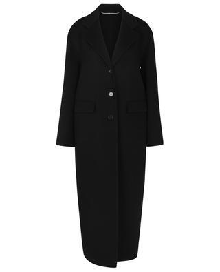 Einreihiger langer Mantel aus Wolle ERMANNO SCERVINO
