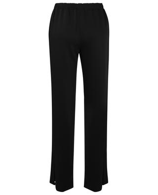 Technical jersey stretch wide-leg trousers ERMANNO SCERVINO