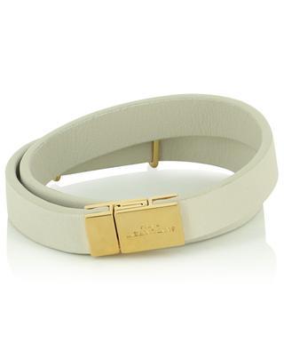 Armband aus Leder Opyum Double Wrap SAINT LAURENT PARIS