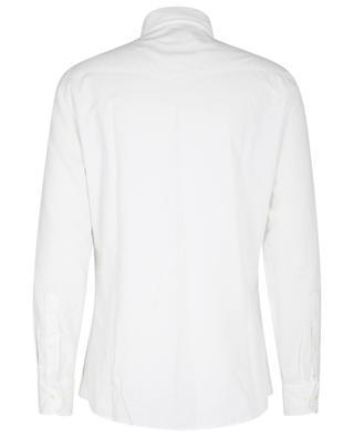 Hemd im Western-Stil aus Feincordsamt Leisure Fit BRUNELLO CUCINELLI