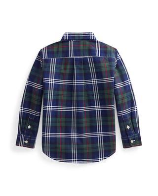 Pony plaid children's oxford cotton shirt POLO RALPH LAUREN