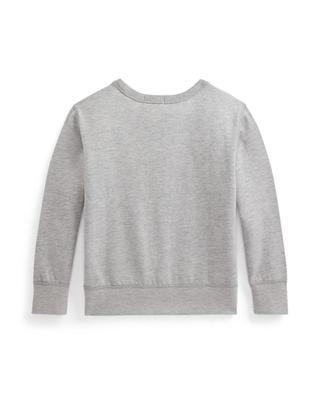 POLO printed baby's crewneck sweatshirt POLO RALPH LAUREN
