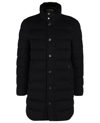 Cashmere puffer jacket with high collar MOORER