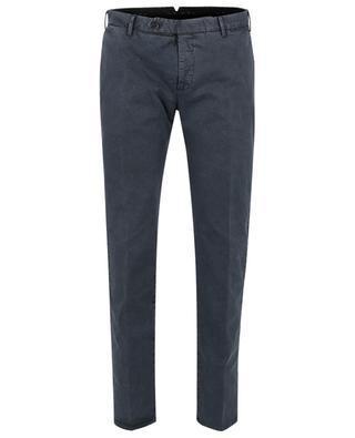 Pantalon slim en coton et lyocell Spark PT TORINO