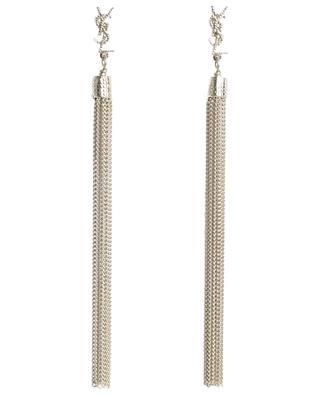 Lange Ohrringe mit Quasten aus goldenem Metall Loulou SAINT LAURENT PARIS