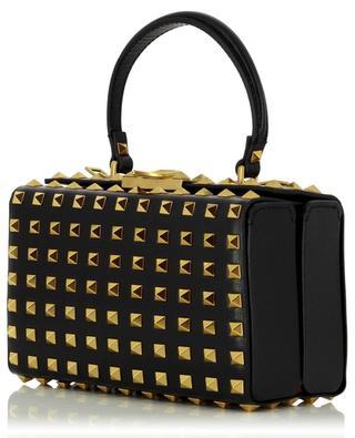 Petit sac à main en cuir grainé Rockstud Alcove Box VALENTINO