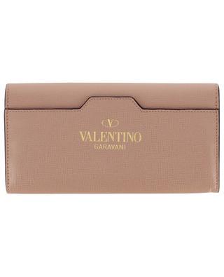Brieftasche aus genarbtem Leder Rockstud Alcove VALENTINO