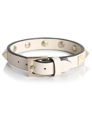 Armband aus Leder mit Nieten Rockstud VALENTINO