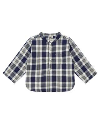 Chemise à carreaux pour bébé col Mao Matt BONTON