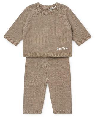 Ensemble bébé en mailles fines Knit11 BONTON