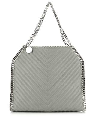 Falabella Small quilted faux suede tote bag STELLA MCCARTNEY