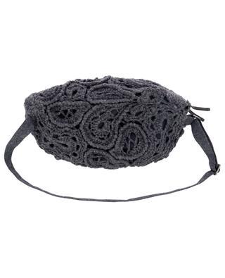 Opera Paisley patterned crochet belt bag BRUNELLO CUCINELLI