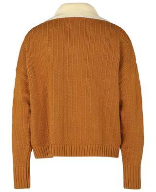 Strick-Polohemd aus Bio-Baumwolle Academist VALENTINE WITMEUR