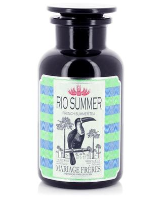 Rio Summer perfumed loose mate tea for ice tea MARIAGE FRERES