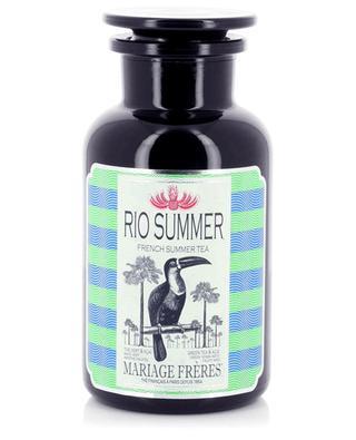 Thé maté en vrac parfumé pour thé glacé Rio Summer MARIAGE FRERES