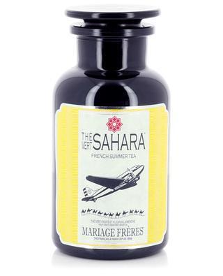 Thé vert en vrac parfumé pour thé glacé Sahara MARIAGE FRERES