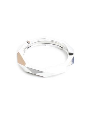 Link to Love studded white gold ring GUCCI