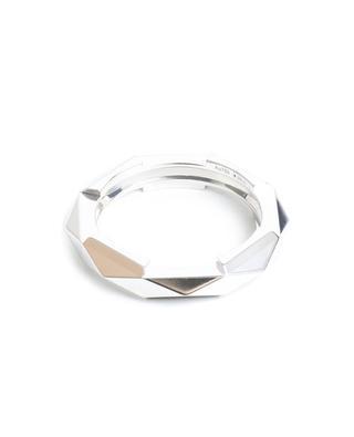 Ring aus Weissgold mit Nieten Link to Love GUCCI