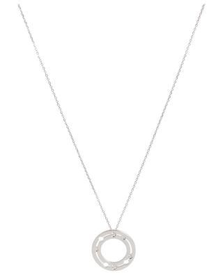 Halskette mit Anhänger aus Weissgold und Diamanten Pulse 20 mm DINH VAN