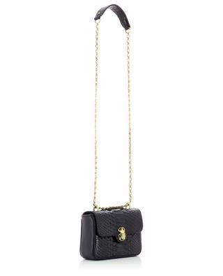 Schultertasche aus Glatt- und Python-Leder Mini Ava CLARIS VIROT