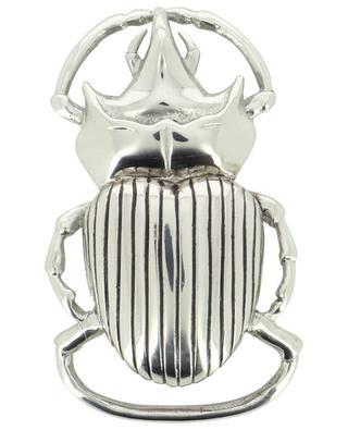 Scarabée silver-tone belt buckle CLARIS VIROT