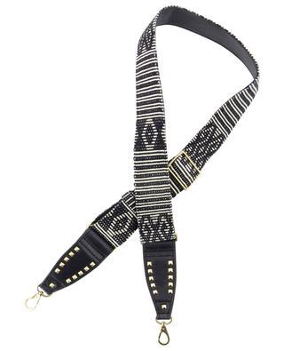 Schultergurt für Handtaschen aus Stoff und Leder Timor CLARIS VIROT