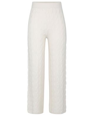Pantalon large en cachemire à torsades Myra LISA YANG