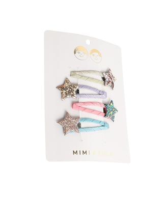 Set mit 4 Haarspangen für Mädchen Rainbow Starlight MIMI & LULA LIMITED