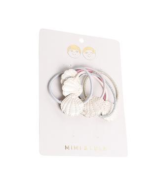 Set de 6 élastiques pour cheveux filles Shimmer Shell Ponies MIMI & LULA LIMITED