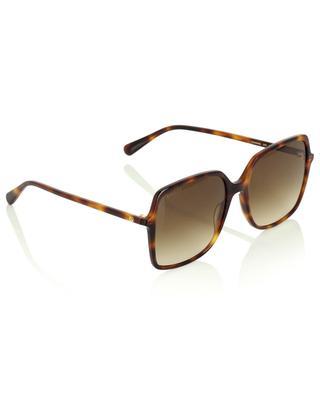 Quadratische Sonnenbrille in Schildpatt-Optik Interlocking G GUCCI