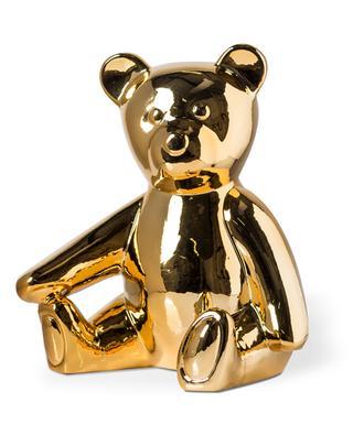 Teddy gold-tone porcelain moneybox POLS POTTEN